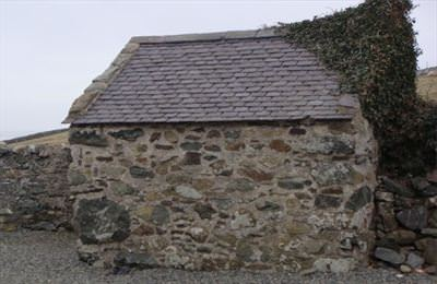 The repaired Goose House at Hen Plas Cemlyn